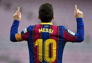 El contrato de Messi con Barcelona concluye el próximo mes. Foto. AFP
