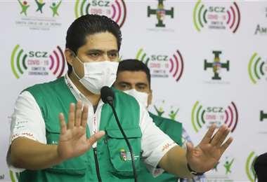 Ríos fungió como secretario interino de Salud en la pasada gestión