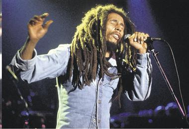 Bob Marley sigue vigente como un ícono de la música