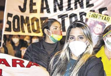 Carolina Ribera, hija de Jeanine Áñez