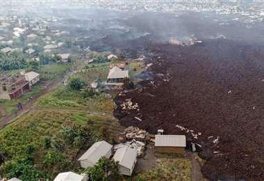 El volcán Nyiragongo erupcionó sin previo aviso