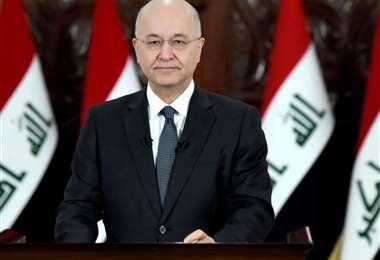 Foto: El presidente iraquí Barham Saleh