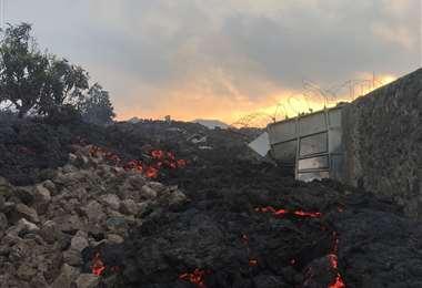 Foto: El volcán Nyiragongo
