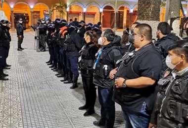 Funcionarios de la Alcaldía de Cochabamba I Facebook.