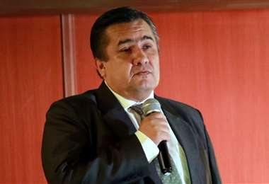 Robert Blanco recurrió a la justicia ordinaria y no le fue favorable. Foto: EL DEBER