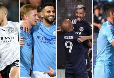 City Football Group es dueño de clubes europeos, asiáticos y sudamericanos. Foto: internet