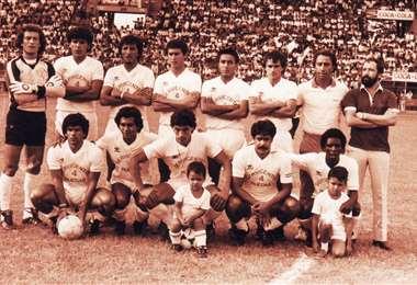 En 1985, Real Santa Cruz acarició el título nacional
