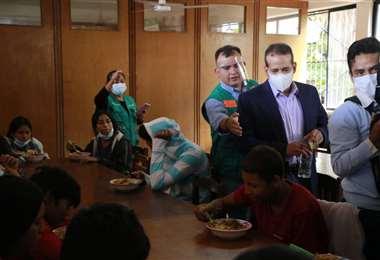 Foto Juan Carlos Torrejón: el albergue tiene la capacidad para refugiar a 100 menores