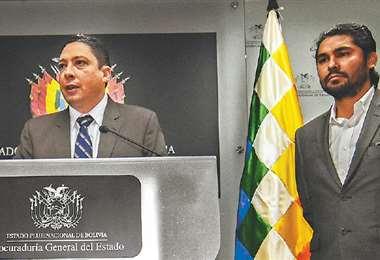 Héctor Arce y Pablo Menacho.