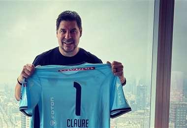 Marcelo Claure, presidente del club Bolívar. Foto: MC