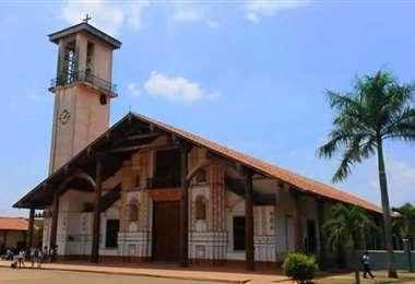 El templo de San Ignacio, centro de la diócesis. Foto: Internet