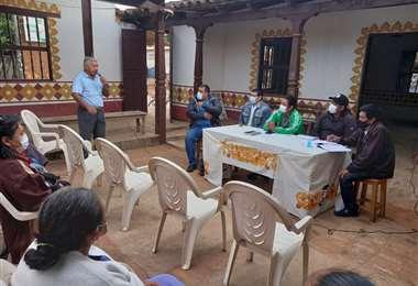 En el cabildo indígena se determinó apoyar al padre Mateo Elvio Pinto.