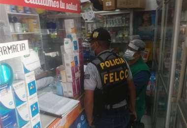 Foto Juan Delgadillo: los controles se realizaron en farmacias de la Villa Primero de Mayo
