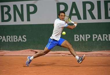 Hugo Dellien, tenista boliviano. Foto: internet