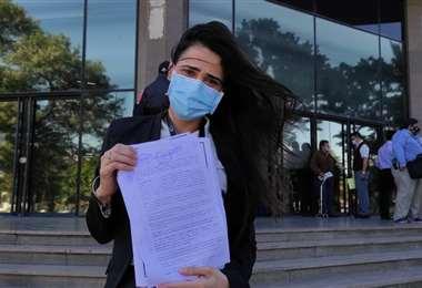 Vanessa Morón sigue un proceso por la tenencia de su hijo