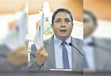 El exministro Héctor Arce