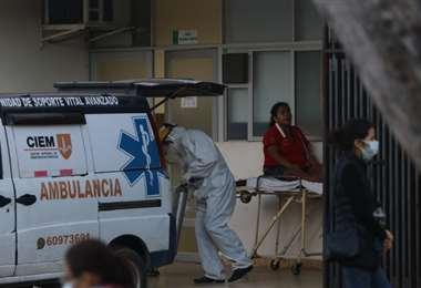 Foto Juan Carlos Torrejón: los contagios volvieron a superar los mil casos este martes.