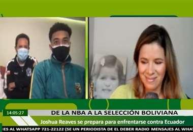 La entrevista virtual de Linda a González a Josh Reave este martes.