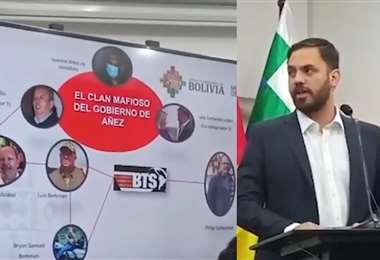 Ministro del Castillo explica los motivos de la detención de colaborador de Murillo.