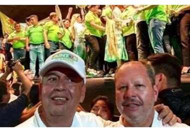 Arturo Murillo y Rodrigo Méndez. Foto: Internet