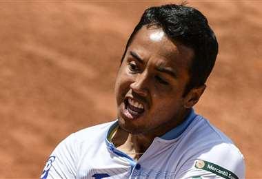 A Dellien le faltó ganar un partido para jugar el Abierto de Francia. Foto: Internet