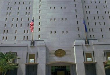 El edificio de la prisión federal de Miami donde se encuentra Arturo Murillo. Foto: Intern