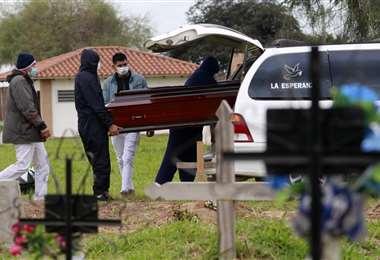 Foto Ricardo Montero: Este martes se registró la mayor cantidad de fallecidos en un día.