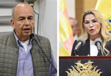 La expresidenta Áñez se pronuncia sobre la detención de Murillo