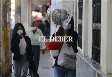 Las muestras de afecto a las madres inundaron la ciudad. Foto: JC. Torrejón