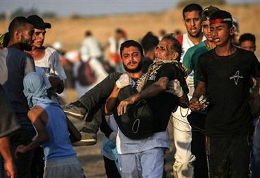 Muchos palestinos han sufrido en Israel y en la franja de Gaza. Foto. Internet
