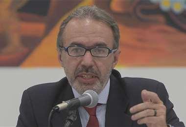 Richter, portavoz presidencial