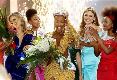 Elección final del concurso sudafricano 2020