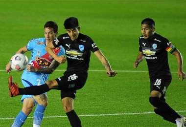 Bolívar dijo adiós a la Sudamericana con una derrota ante Arsenal. Foto: APG noticias