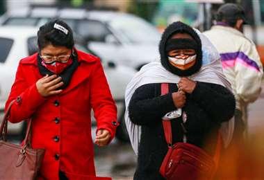 Las temperaturas descenderán este domingo