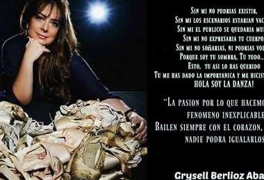 La bailarina y maestra Grysell Berlioz tenía 56 años
