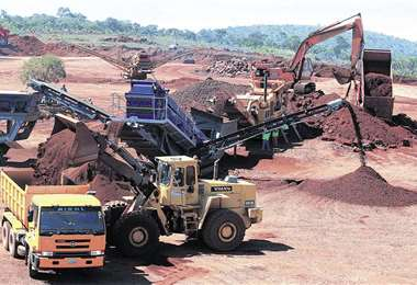 La empresa siderúrgica del Mutún.
