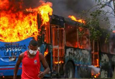 Los disturbios y los actos más graves de vandalismo se registraron en Cali