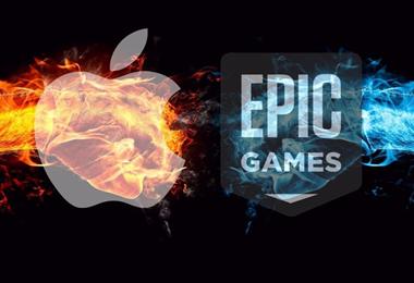 Apple en una gran batalla legal Epic Games