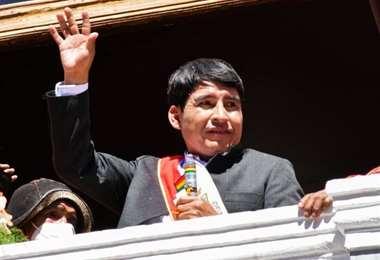 Damián Condori Herrera, gobernador de Chuquisaca/Foto: Gobernación