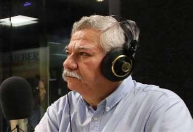 Federico Sánchez es vocal del Comité Electoral de Blooming. Foto: EL DEBER