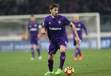Davide Astori fue capitán de la Fiorentina de Italia. Foto: internet