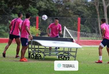 Guabirá cerró este lunes su preparación de cara al partido del miércoles. Foto: Guabirá