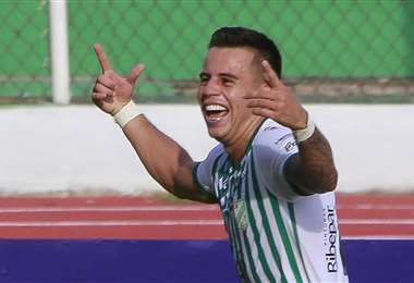 Henry Vaca es el goleador de Oriente con tres tantos. Foto: APG Noticias