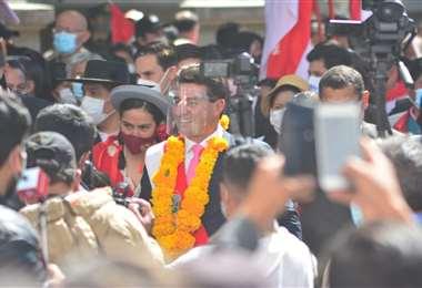 Johnny Torres, alcalde de Tarija/Foto: APG