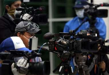 En los últimos días hubo amenazas hacia los trabajadores de la prensa