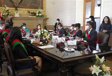 Nuevas autoridades del Concejo Municipal de La Paz.