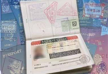 La visa solicitada por México I archivo.