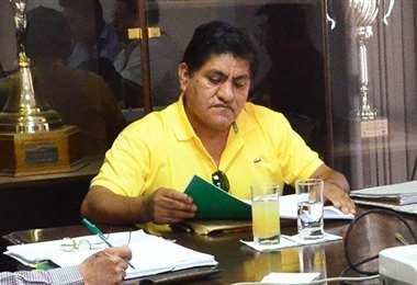 Limbert Cardozo es el presidente de la Comisión Electoral de la FBF. Foto: Internet