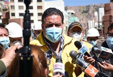 Luis Revilla, exalcalde de La Paz I AMN.