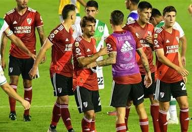 River Plate perdió este domingo ante Banfield. Foto: Olé